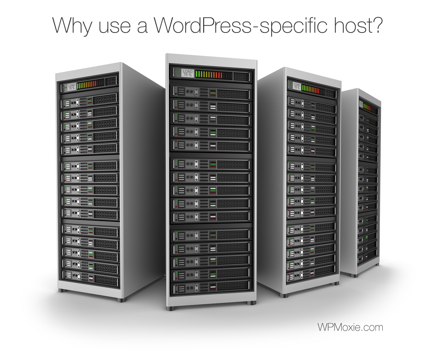 Cool image about WordPress specific hosts - it is cool